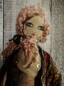 Bearded Lady - Puppet